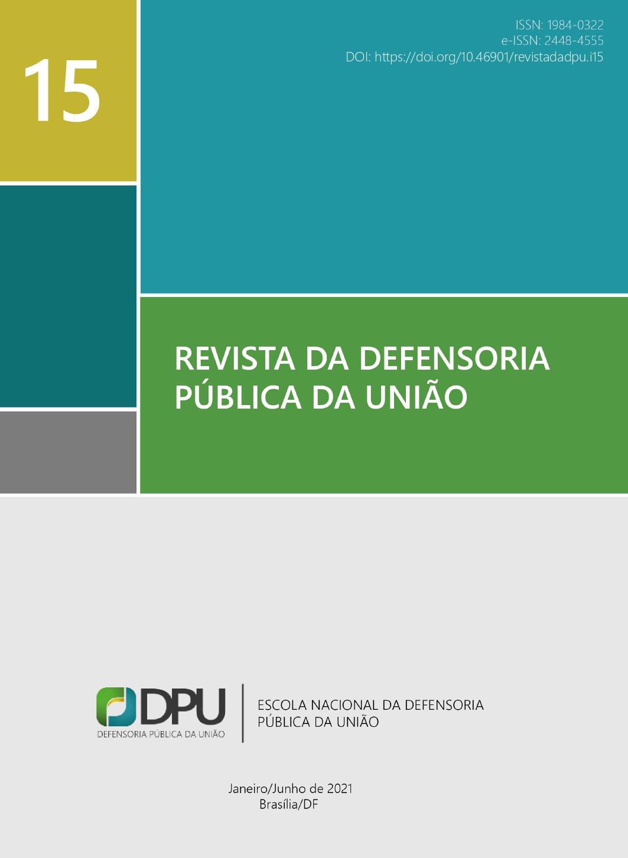 Visualizar n. 15 (2021): Revista da Defensoria Pública da União